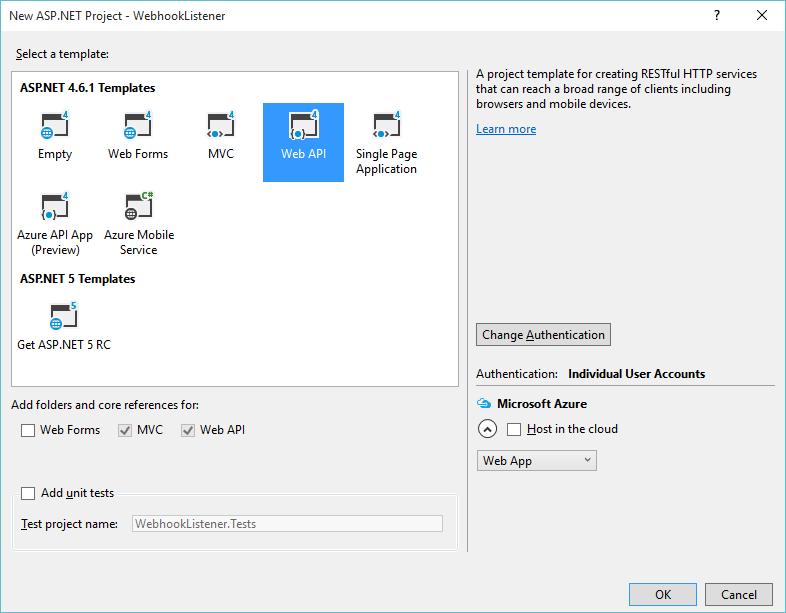 Hosting a C# Webhook Listener in Azure - Ex Libris Developer Network