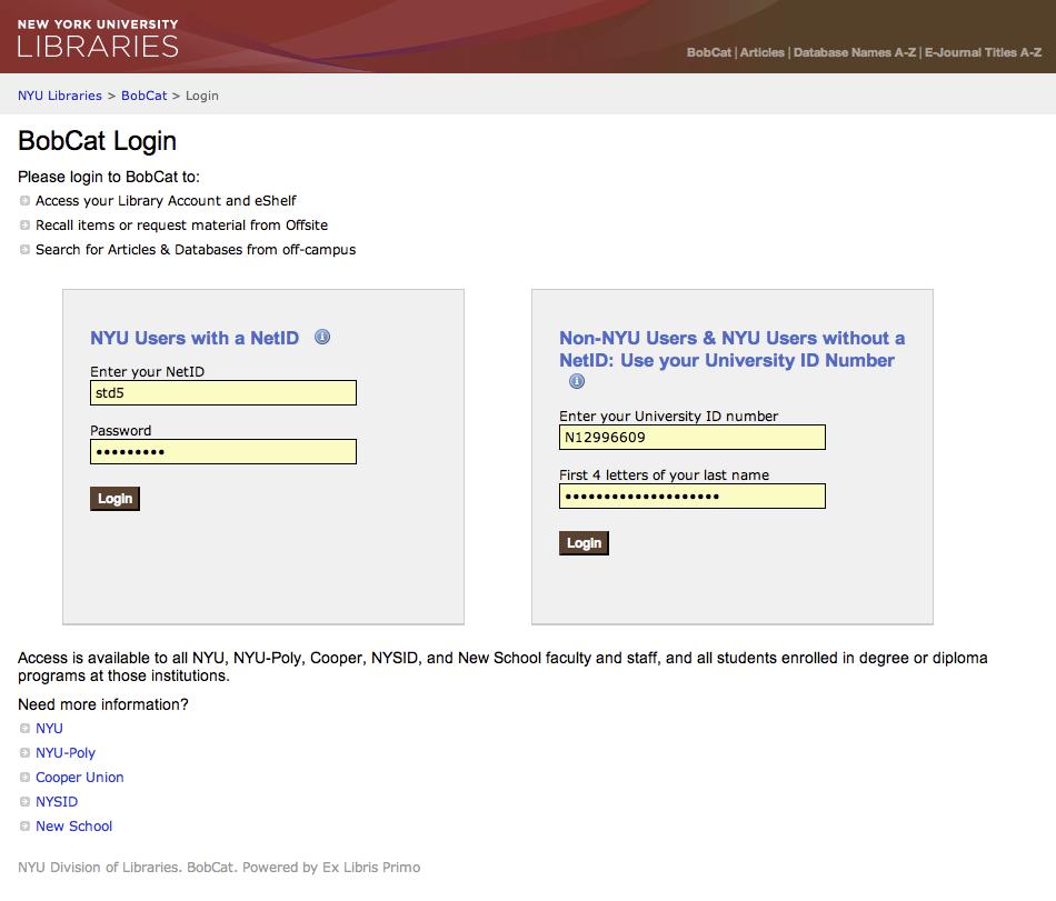 PDS OpenSSO Integration - Ex Libris Developer Network