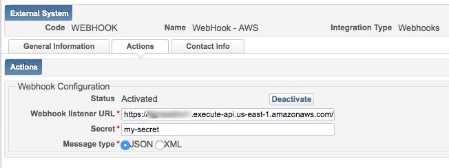 Hosting a Webhook Listener in AWS - Ex Libris Developer Network