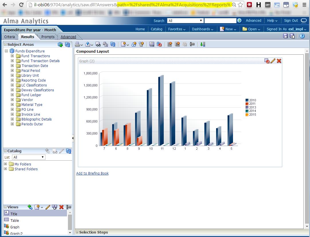 Working with Analytics REST APIs - Ex Libris Developer Network